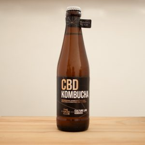 CBD Kombucha made by Culture Lab