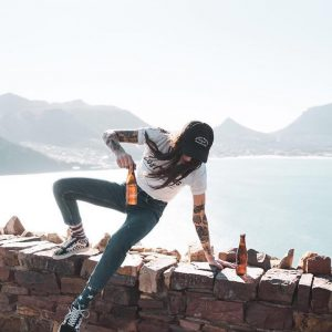 Culture Lab Andrea jumping Hout Bay